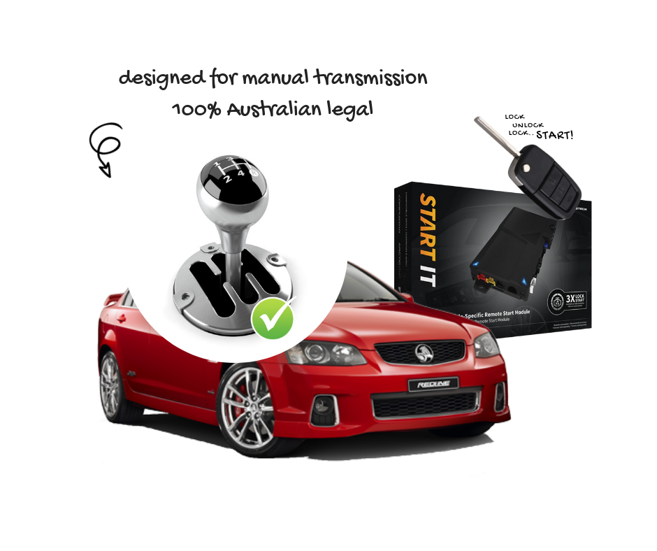 Holden VE Commodore Remote Start Manual Transmission - Australia