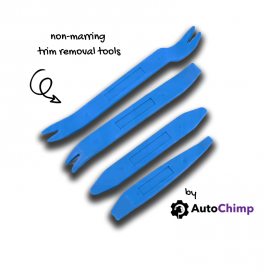 AutoChimp Non Marring Trim Tool Kit | Panel Removal Tool