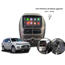 Kayhan Ford Territory SZ Stereo Upgrade - Ford Android ICC 2011 to 2016