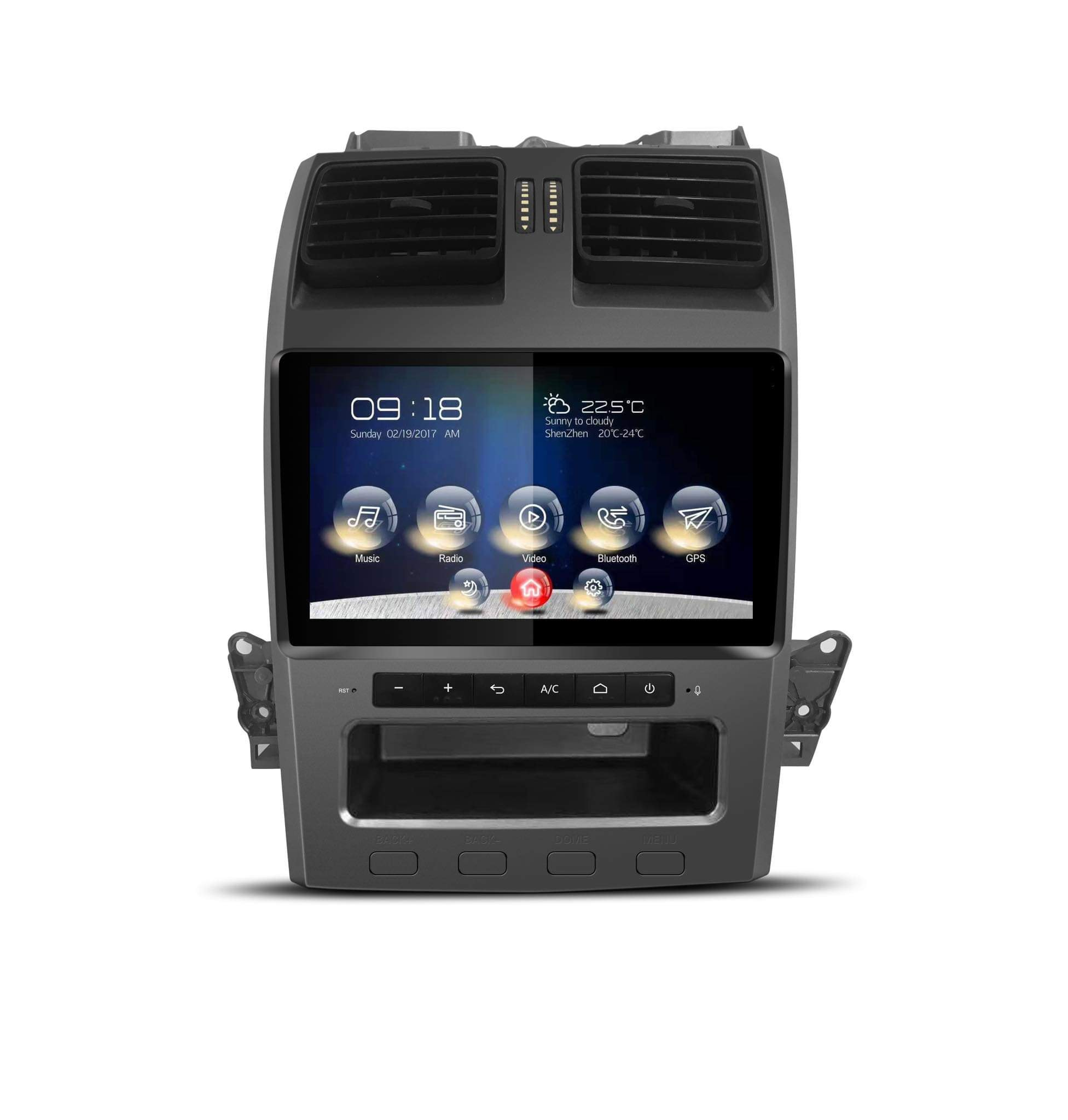 Kayhan Ford Falcon BA BF Stereo Upgrade - Ford Android ICC Replacement | SY  Territory