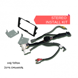 AutoChimp AC-TRITON-KIT Kenwood Stereo Install Kit for Mitsubishi Triton MQ - 2016 onwards