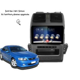 Kayhan Ford Falcon BA BF Stereo Upgrade
