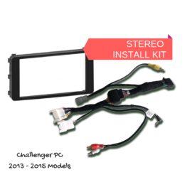 AutoChimp AC-CHALLENGER-KIT Kenwood Stereo Install Kit for Mitsubishi Challenger PC - 2013 to 2015