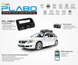 NEFU PLABO Full HD Dash Camera 64gb 2 Channel