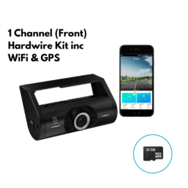 NEFU PLABO Full HD Dash Camera 32gb 1 Channel | GPS, WIFI & App