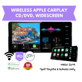 Kenwood DDX919WS HD 200mm Widescreen AV Stereo CD/DVD | Wireless Apple CarPlay + Android Auto