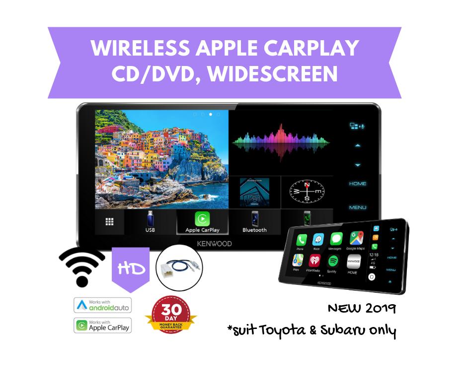 Kenwood DDX919WS HD 200mm Widescreen AV Stereo CD/DVD | Wireless Apple  CarPlay + Android Auto
