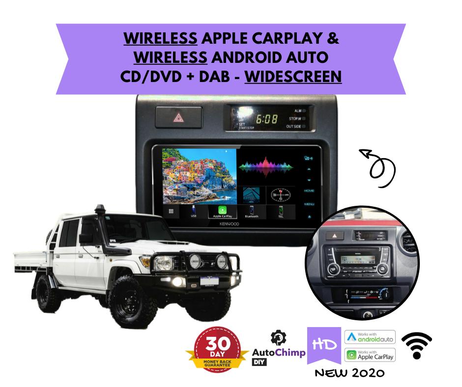 Kenwood DDX920WDABS for Toyota Landcruiser Stereo Upgrade
