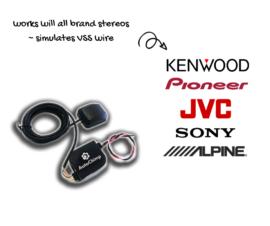 AutoChimp GPS to VSS Converter | VSS Wire Simulator for Aftermarket Stereo | GPS-VSS