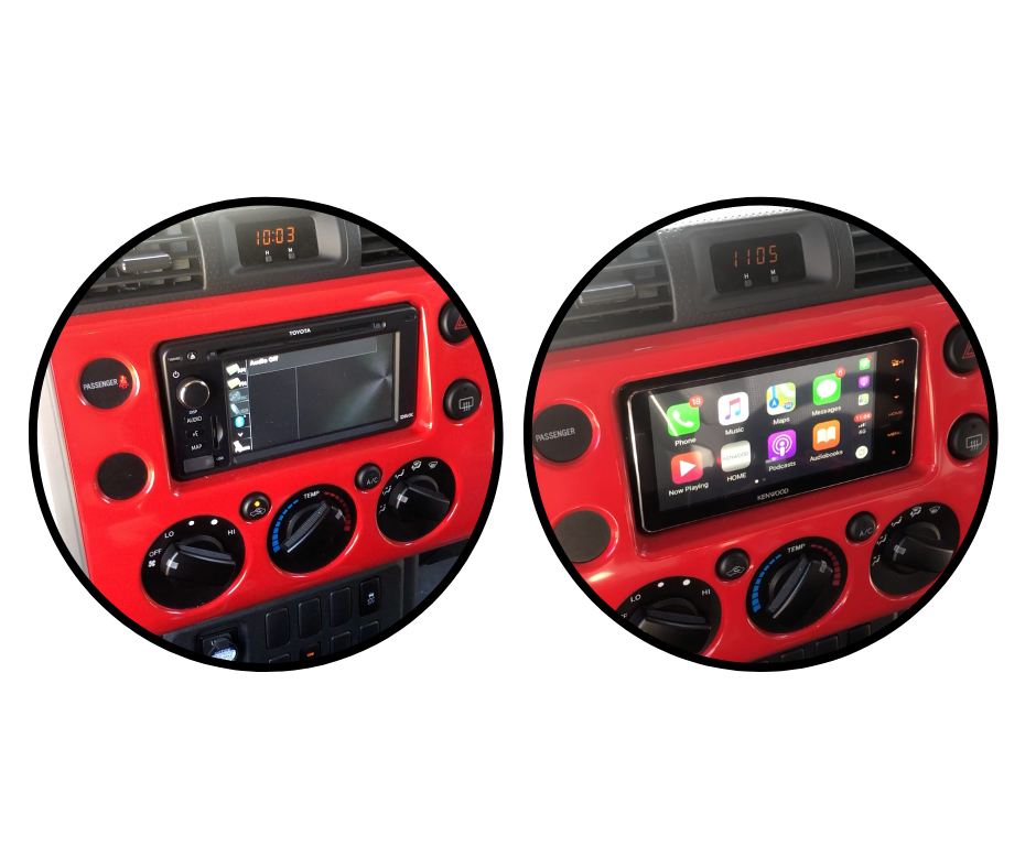Kenwood DMX820WS for FJ Cruiser Stereo Upgrade | 2007 to 2015