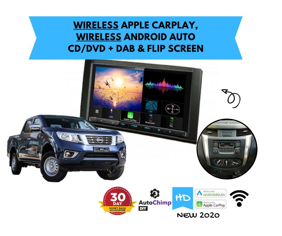 Kenwood DDX9020DABS for D23 Nissan Navara ST STX Stereo Upgrade | 2014 to 2018