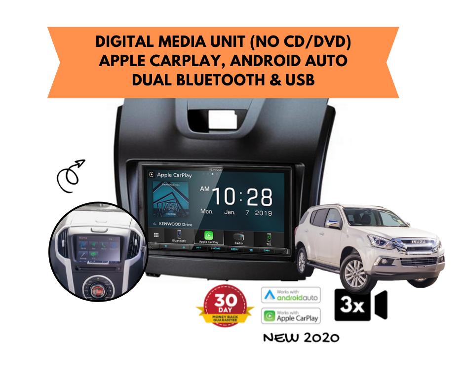 Kenwood DMX8020S for Isuzu MUX Stereo Upgrade | 2012 to 2018 Screen Models