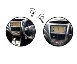 Kenwood DDX9019DABS for Subaru Forester SH Stereo Upgrade | 2008 to 2013 Nav Models