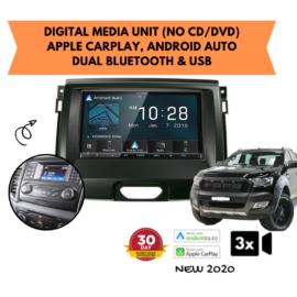 Kenwood DMX8020S forFord Ranger PX2 Stereo Upgrade | 2015 to 2018