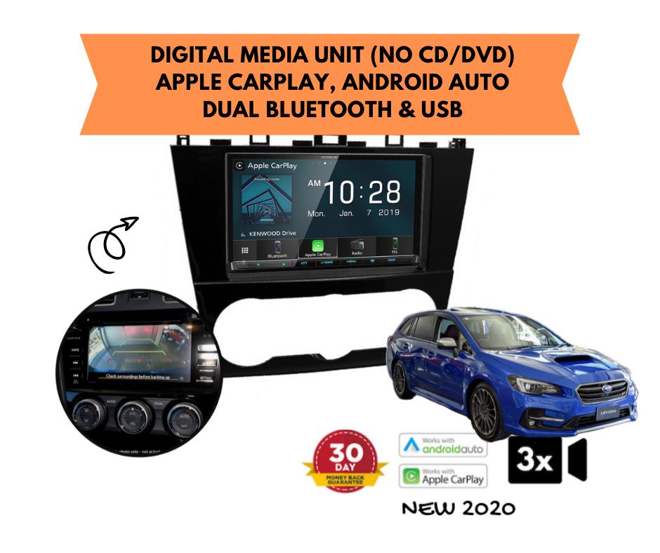 Kenwood DMX8020S for Subaru Levorg Stereo Upgrade | 2016 to 2019