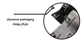 SoundSkins Classic Bulk Kit Traditional Silver
