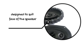 SoundSkins Rings v3 Speaker Sealing Kit
