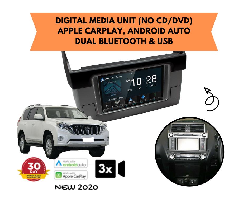 Kenwood DMX8020S for Toyota Prado Stereo Upgrade | 2014 to 2019