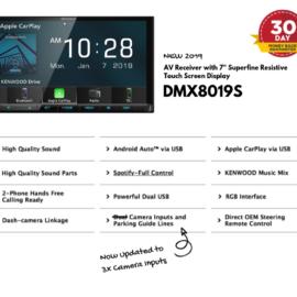Kenwood DMX8019S for Toyota Prado Stereo Upgrade | 2014 to 2019