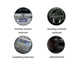 Kenwood DDX919WS for Toyota Prado Stereo Upgrade   2014 to 2019