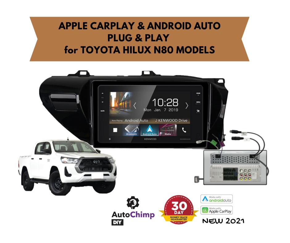 "Kenwood DMX820WXS 8"" Digital Media Player for Toyota Hilux N80 | 2015 - 2020"