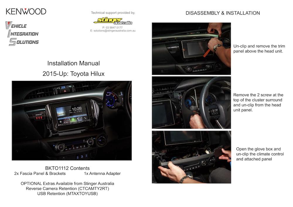 Kenwood DMX820WXS Instructions