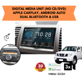 Kenwood DMX8020S forD40 Nissan Navara Stereo Upgrade | 2005 to 2014