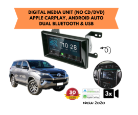Kenwood DMX8020S forToyota Fortuner Stereo Upgrade | 2015 to 2019