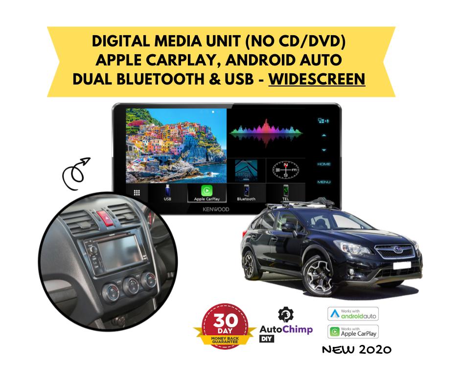 Kenwood DMX820WS for Subaru XV Stereo Upgrade | 2012 to 2015