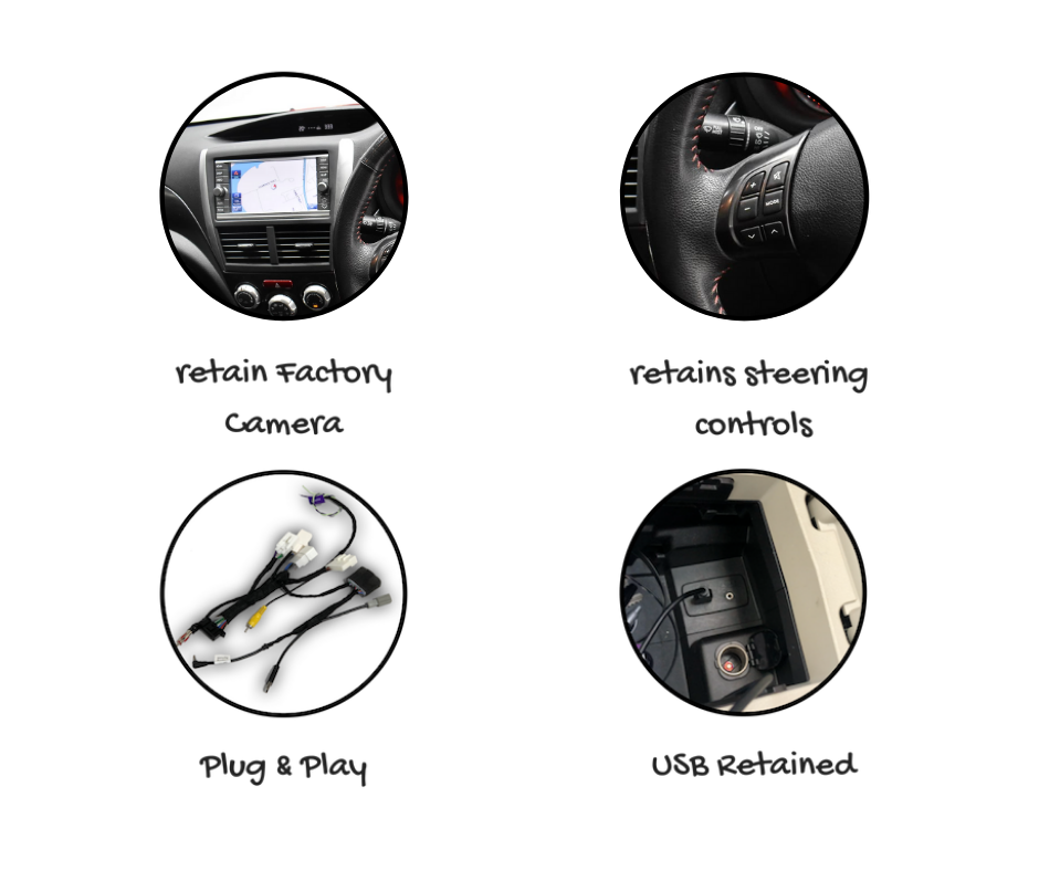 Kenwood DMX8020S for Subaru Impreza Stereo Upgrade   2008 to 2011