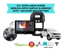 Kenwood DMX9720XDS for Ford Ranger PX1 Stereo Upgrade | 2012 to 2015
