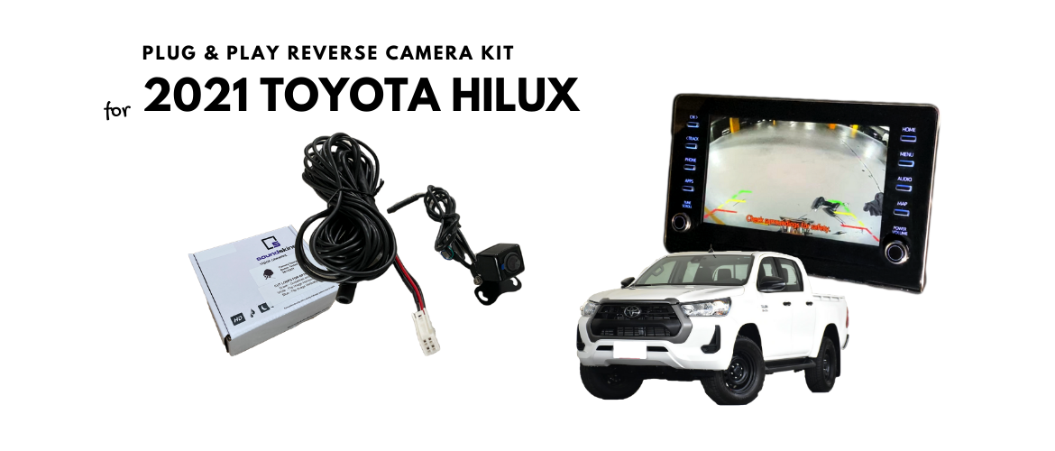 Reverse Camera for Toyota Hilux 2021