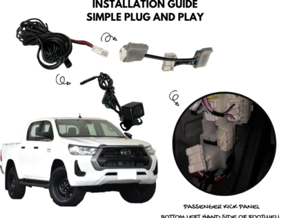 NEW: Reverse Camera Kit for Toyota Hilux 2020 & 2021 Models
