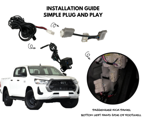 Reverse Camera Kit for Toyota Hilux 2020