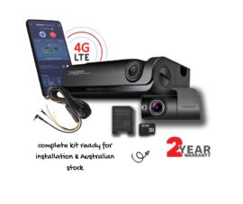 Thinkware T700 Dash Camera 4G LTE Smartphone Dual Camera Kit | 32gb