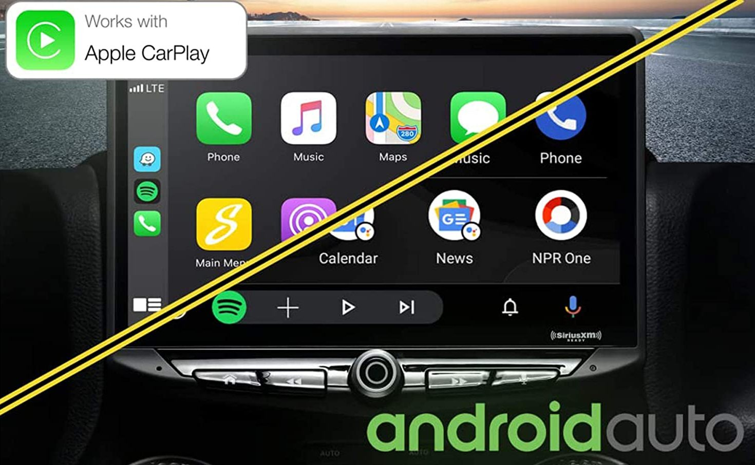 Stinger HEIGH10 Car Stereo Apple CarPlay & Android Auto