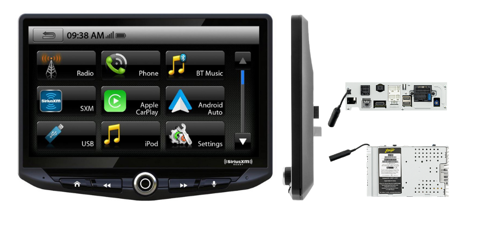 Stinger HEIGH10 Car Stereo 10″ Infotainment System | UN1810