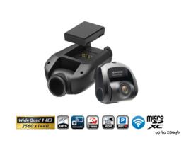 Kenwood DRV-A700WDP Dash Camera QHD 2 Channel | Front + Rear & Hardwire Kit