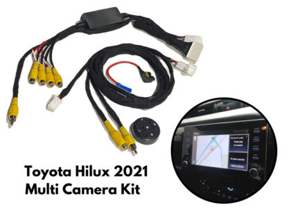 How to Add Multiple Cameras to 2021 Toyota Hilux Stereo | AC-TOY-MULTI