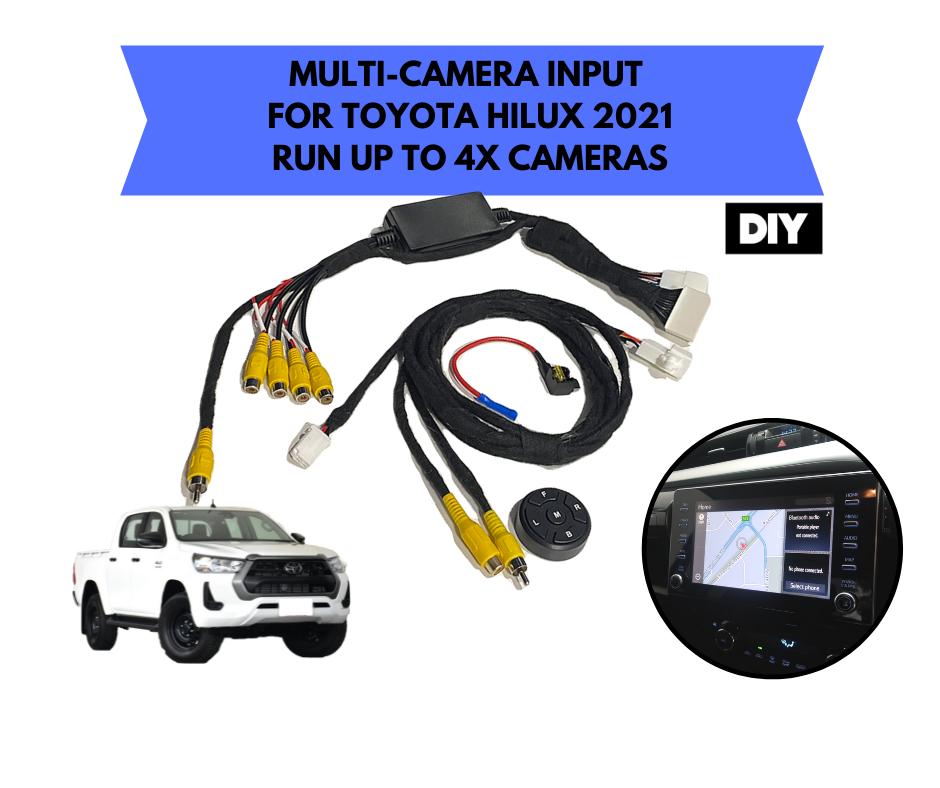 AutoChimp Multi Camera Kit for Toyota Hilux 2021 | AC-TOY-MULTI